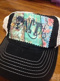 Faith Floral Hat