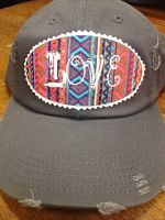 LOVE aztec hat