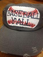 Baseball Yall Hat