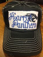 harrah panthers hat