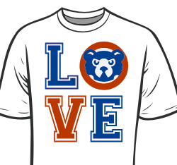 Love Stacked Cubs