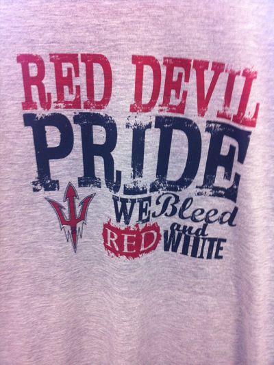 mascot pride bleed colors