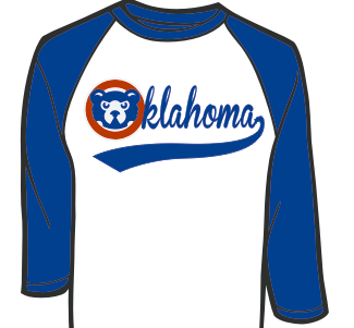 Cubs Oklahoma with tail