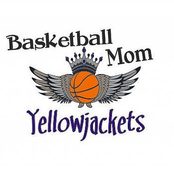 BASKETBALL MOM YELLOW JACKETS