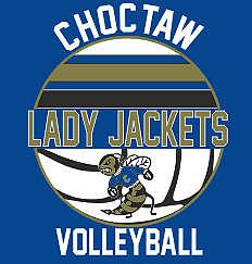 CHOCTAW VOLLEYBALL WITH LINES NEW