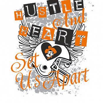 HUSTLE AND HEART SET US APART