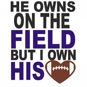 HE OWNS THE FIELD