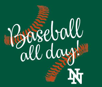 NN baseball 6 Glitter Print