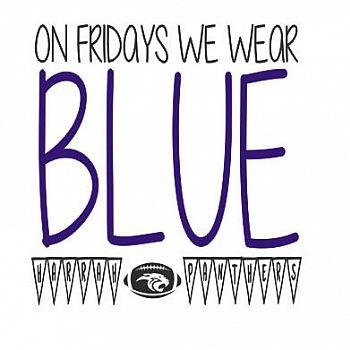 ON WEDNESDAYS WE WEAR BLUE