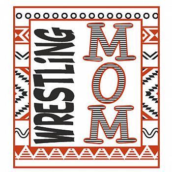 WRESTLING MOM AZTEC