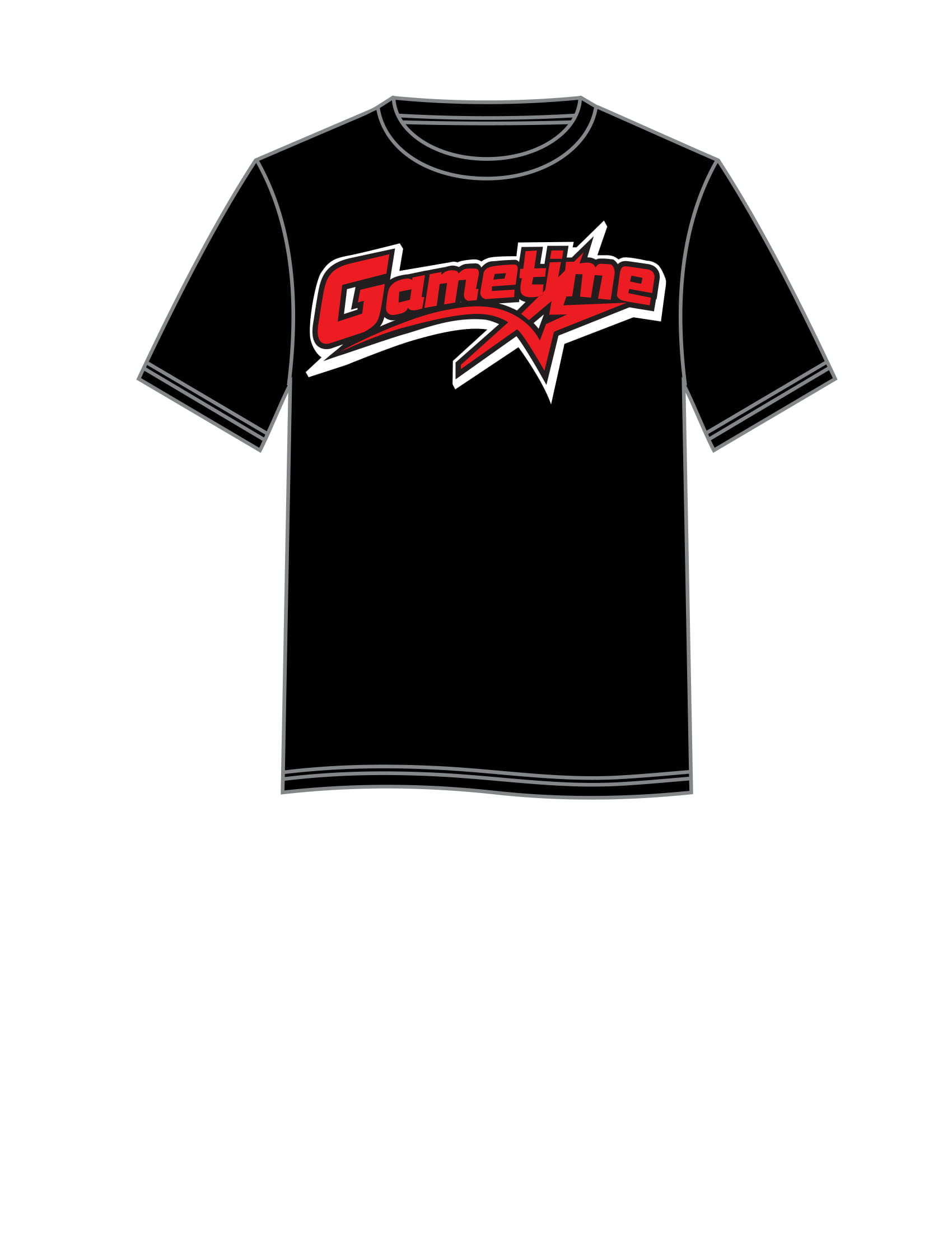 GAMETIME short sleeve tee