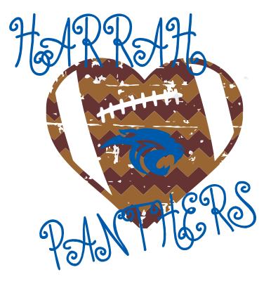 HARRAH FOOTBALL HEART