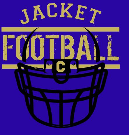 JACKET FOOTBALL HELMET FRONT