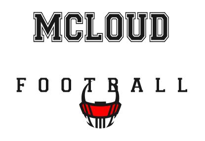MCLOUD REDKSKIN FOOTBALL