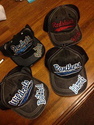 sparkle school hats